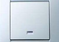 Simon 1клав. выключатель с подсветкой, White (C0019041)