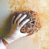 Как правильно покрасить стену губкой