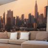 Декорирование стен фотообоями