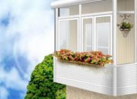 Наружная отделка балкона — остекление