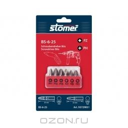 Набор бит Stomer BS-6-25